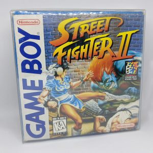 Street Fighter 2 Game Boy Front