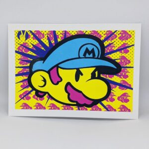 Mario postcard