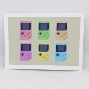 Game Boy postcard