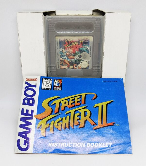 Street Fighter 2 Game Boy included