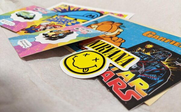 Retro Chest Pins Subscription Box