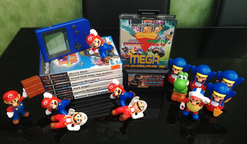 Sell your old games for cash