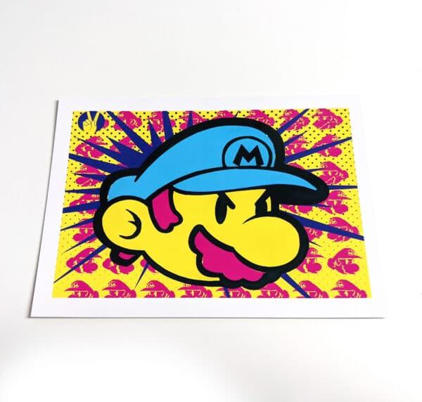 Mario Water Colour