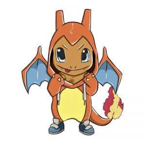 Pokemon Charmander Pin