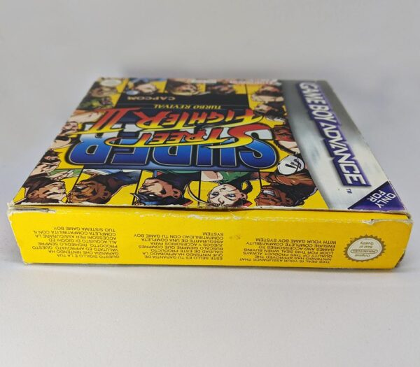Super Street Fighter 2 GBA Top