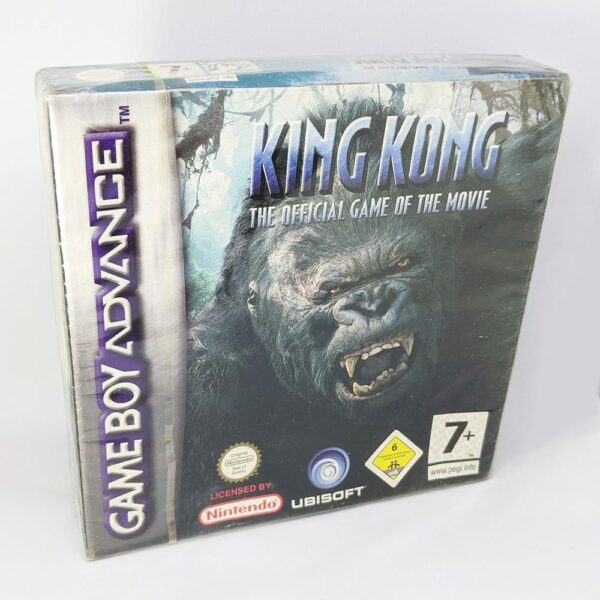 New King Kong Sealed Game Boy Advance