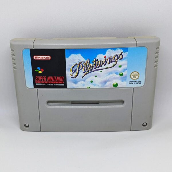 Pilotwings SNES Front