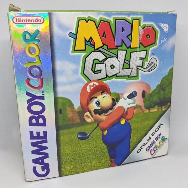 Mario Golf Game Boy Color Box Front