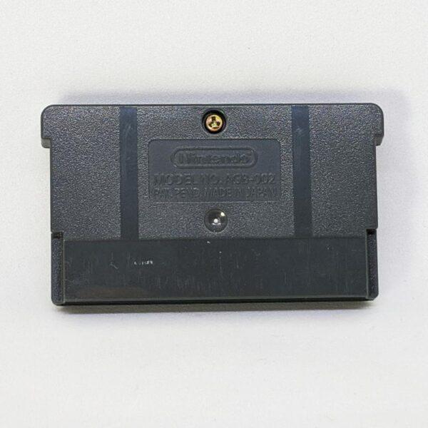 Salt Lake 2002 Game Boy Advance Back