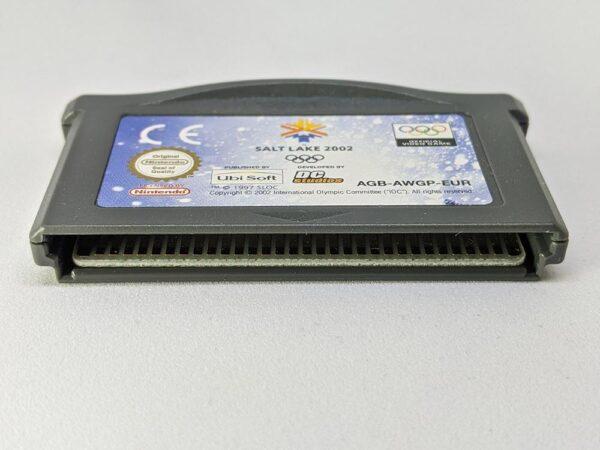 Salt Lake 2002 Game Boy Advance Bottom