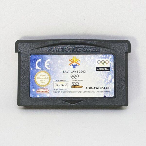 Salt Lake 2002 Game Boy Advance Front