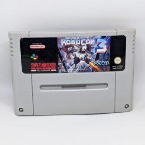 RoboCop 3 SNES Front