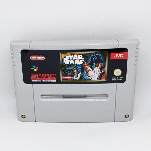 Super Star Wars SNES Front