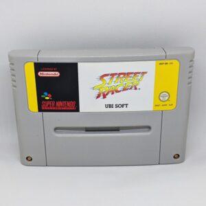 Street Racer SNES Cart Front