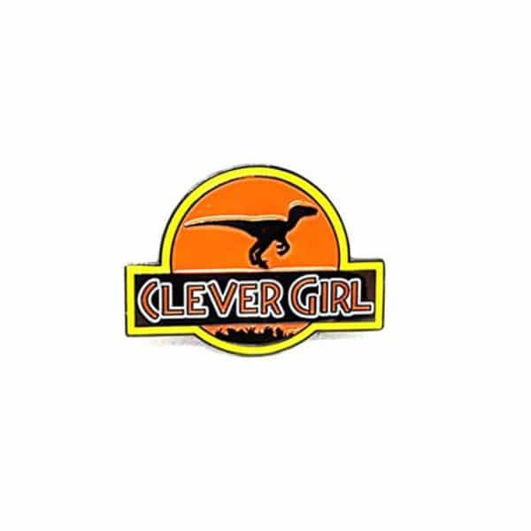 Clever Girl Enamel Pin