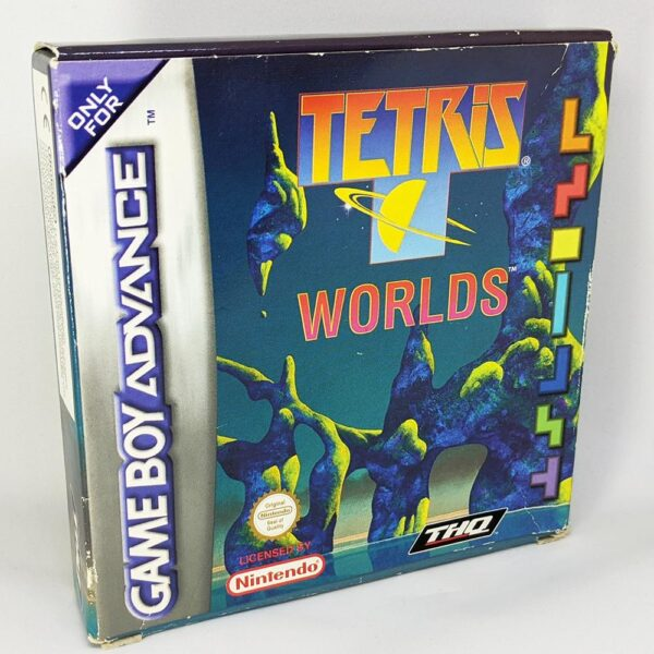 Tetris Worlds Game Boy Advance Boxed Front