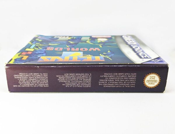 Tetris Worlds Game Boy Advance Boxed Top