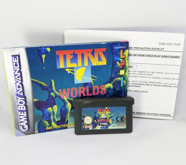 Tetris Worlds Game Boy Advance contents