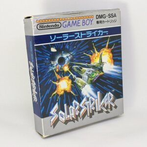 Solar Striker Game Boy Boxed Front