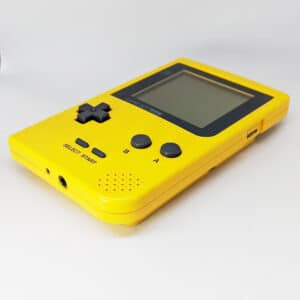 Game Boy Pocket Yellow Bottom