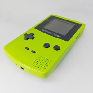 Game Boy Color Green Iso Bottom
