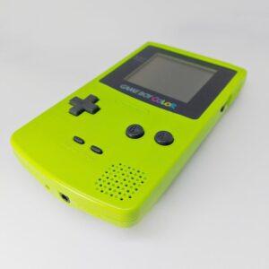 Game Boy Color Green Iso Bottom