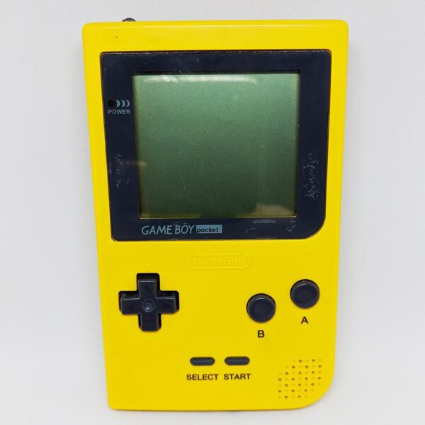 Game Boy Pocket Yellow Front