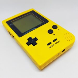 Game Boy Pocket Yellow Bottom