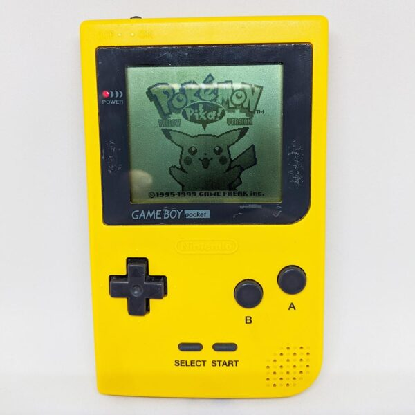 Game Boy Pocket Yellow Tested