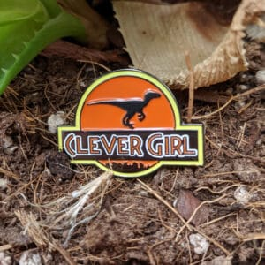 Clever Girl Enamel Pin