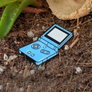 Game Boy SP Enamel Pin