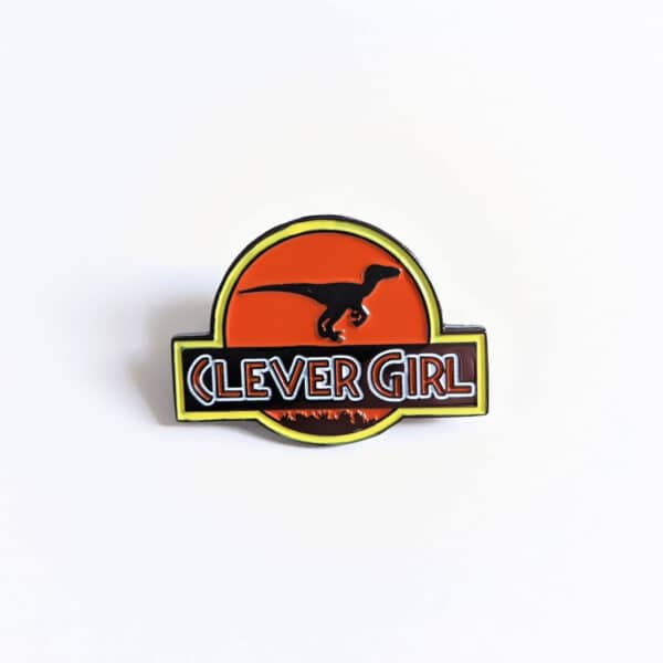 Clever Girl Pin