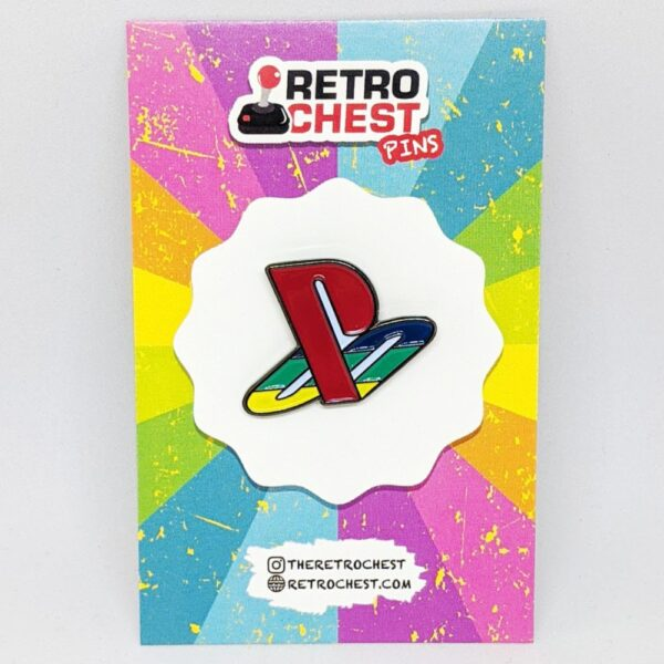 Retro Chest Pins PlayStation
