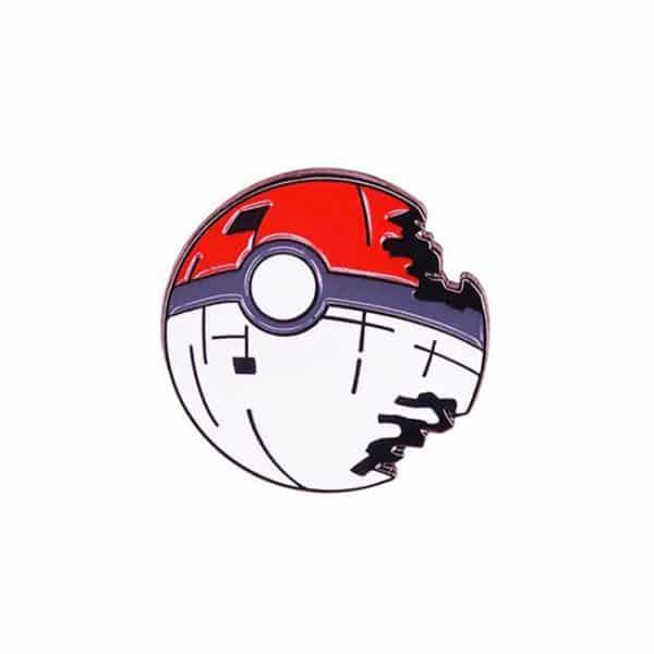 Pokeball Death Star Pin