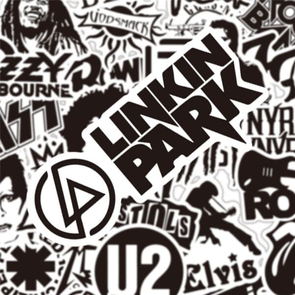 Rock Music Stickers - Linkin Park