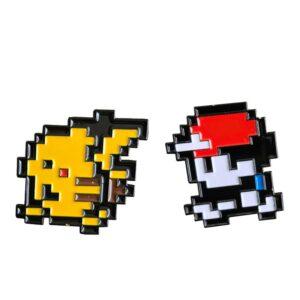 Ash & Pikachu Enamel Pin