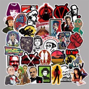 Classic Movie Stickers - Mix