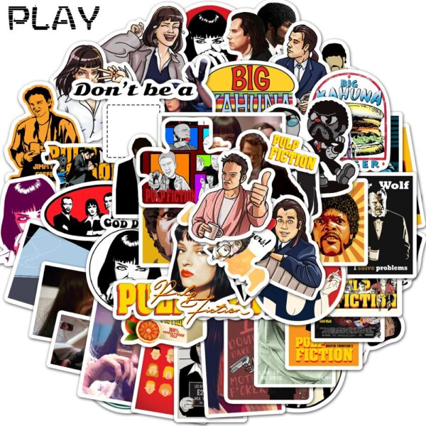 Pulp Fiction Stickers Mix