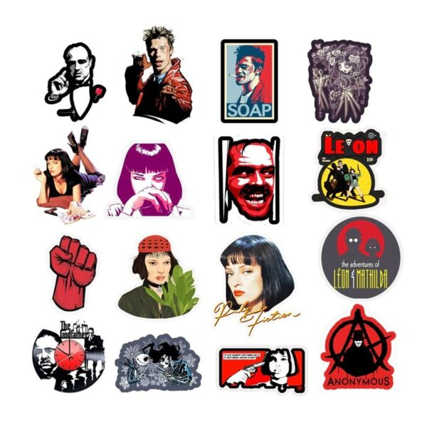 Classic Movie Stickers - Mixture