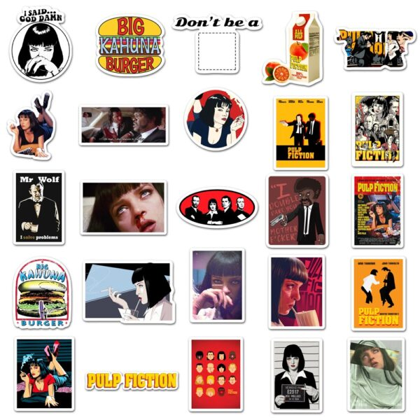 Pulp Fiction Stickers