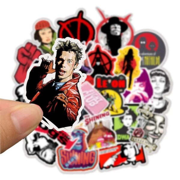 Classic Movie Stickers - Fight Club