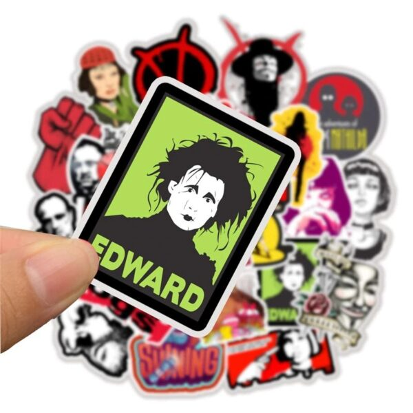 Classic Movie Stickers - Edward