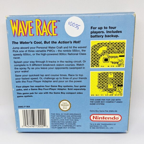 Wave Race Boxed Back
