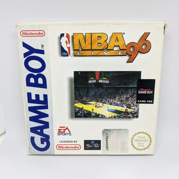 NBA Live 96 Boxed Front