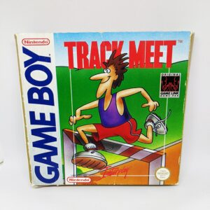 Track Meet Game Boy Boxed Front