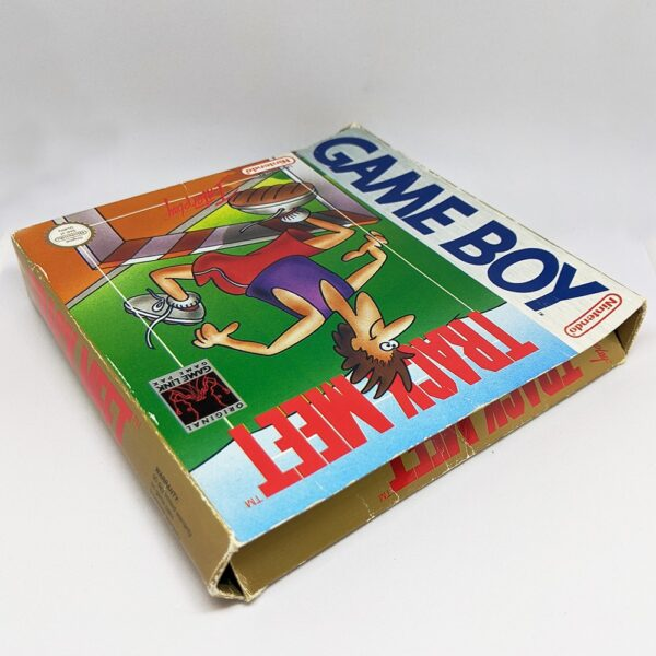 Track Meet Game Boy Boxed Top