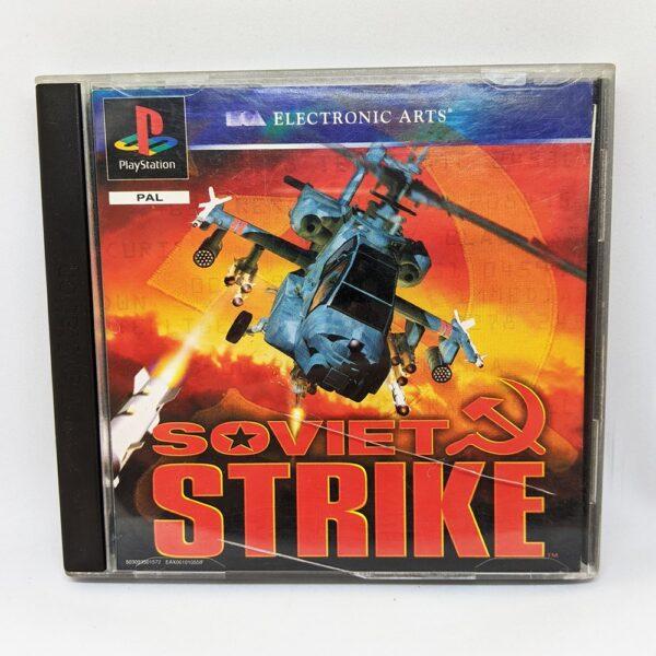 Soviet Strike PS1 Front