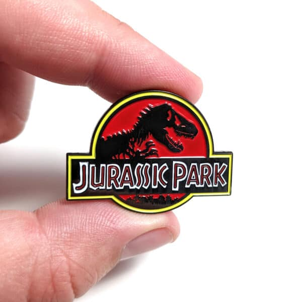 Jurassic Park Enamel Pin