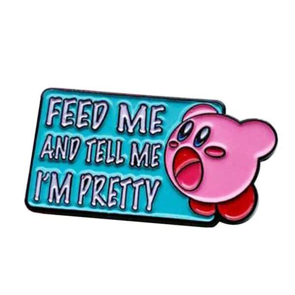Feed Me Kirby Pin