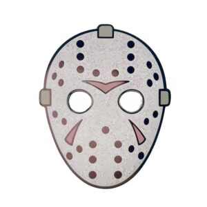 Horror Jason Mask Pin